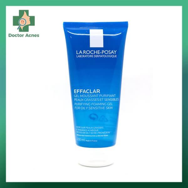 Gel Rửa Mặt Tạo Bọt LA ROCHE-POSAY Effaclar cho da dầu 200ml
