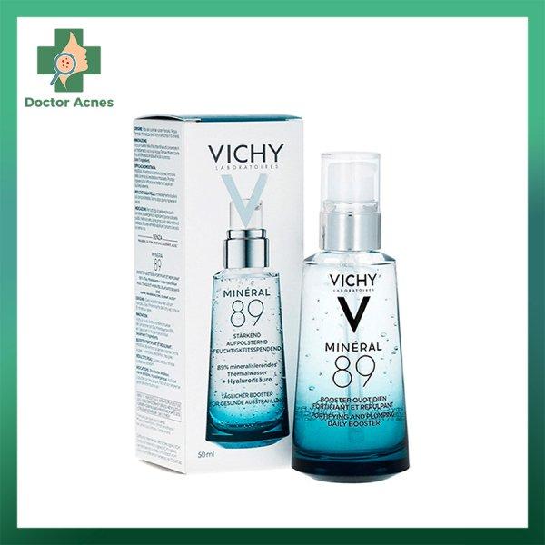Dưỡng chất VICHY Mineral 89 giúp phục hồi và bảo vệ da 0