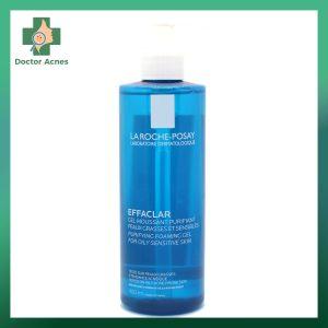 Gel Rửa Mặt Tạo Bọt LA ROCHE-POSAY Effaclar cho da dầu 400ml