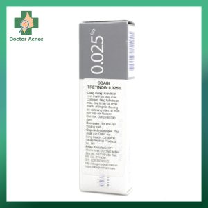 Kem trị mụn lão hóa da OBAGI Tretinoin 0025 2