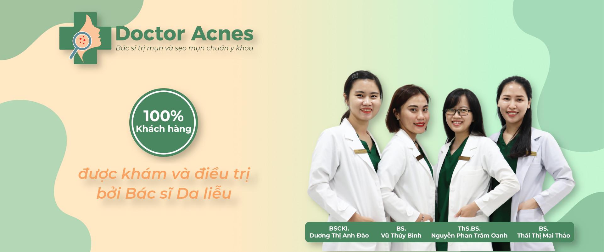 Banner Bác sĩ Da liễu Doctor Acnes 2