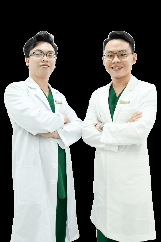 Bs Huy và Bs Tuấn Doctor Acnes
