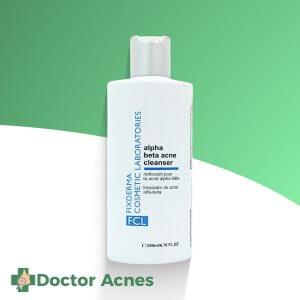 Sữa rửa mặt cho da mụn FIXDERMA Alpha-Beta Acne