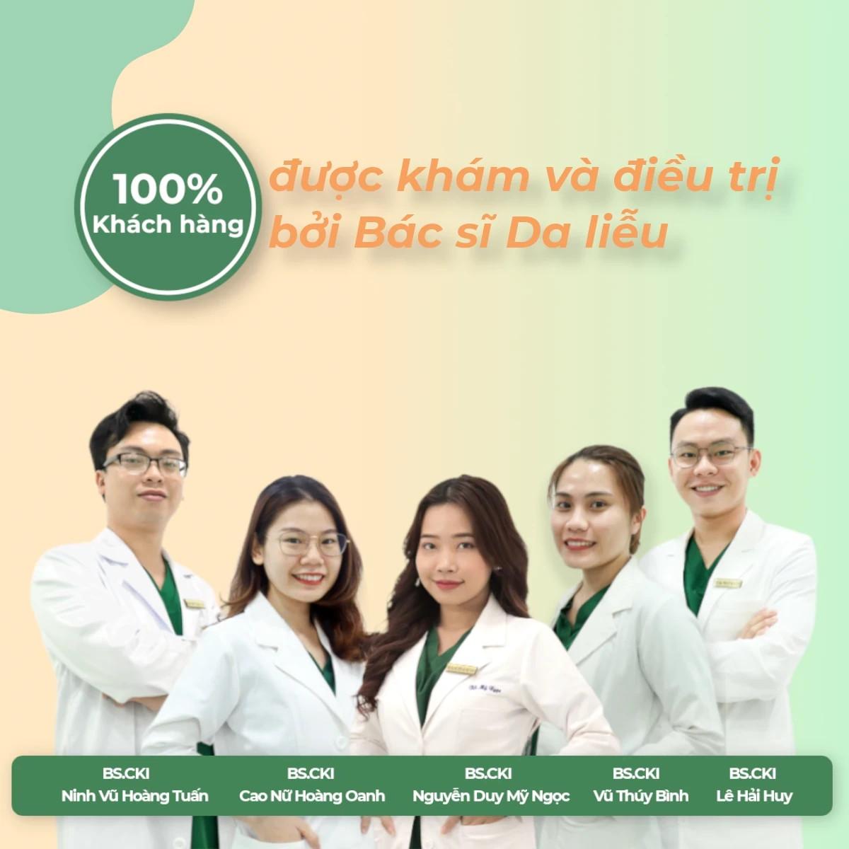 Banner Bác sĩ Da liễu Doctor Acnes m