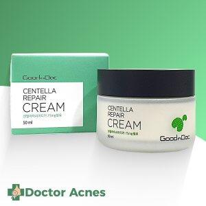 Kem Dưỡng Phục Hồi Da GoodnDoc Centella Repair Cream 50ml