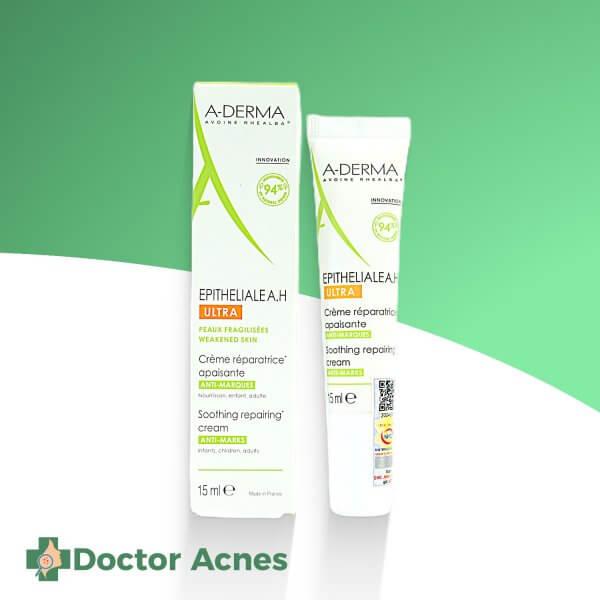 Kem giúp làm dịu, dưỡng ẩm da và giảm thâm, sẹo A-DERMA Epitheliale A.H Ultra 40ml