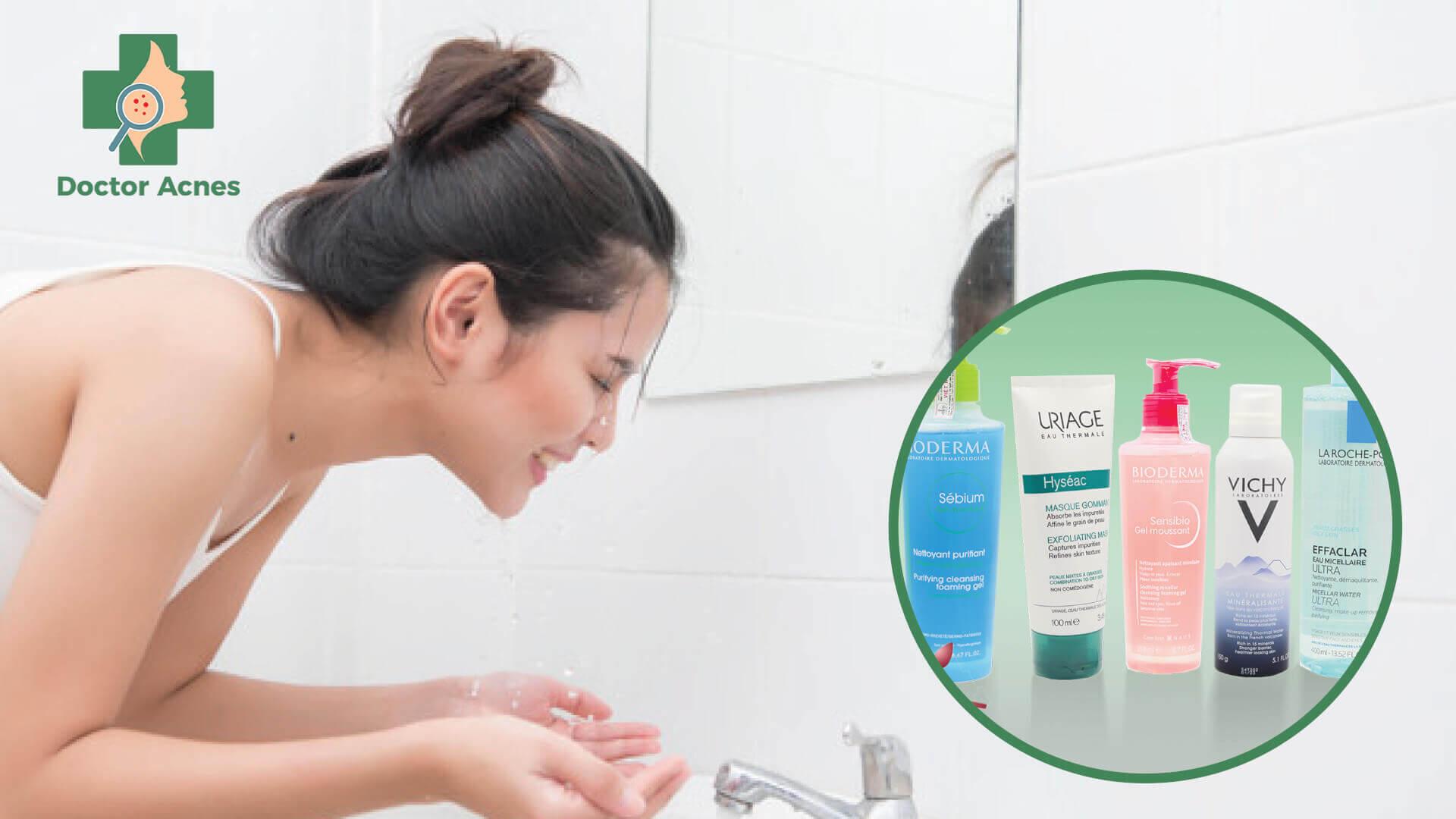 Nguyên tắc rửa mặt - Doctor Acnes