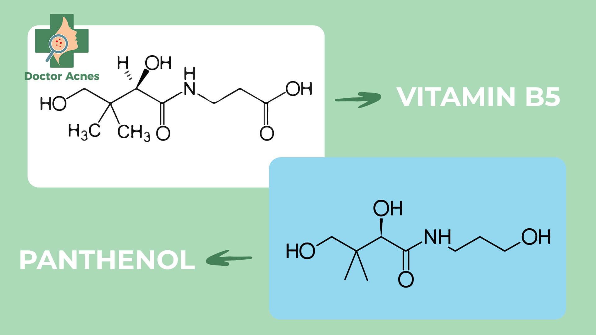 Công thức vitamin B5 - Doctor Acnes