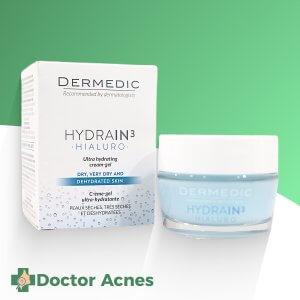 Kem Dưỡng Ẩm Ban Đêm Dermedic Hydrain3 Hialuro Ultra Hydrating Cream 50g