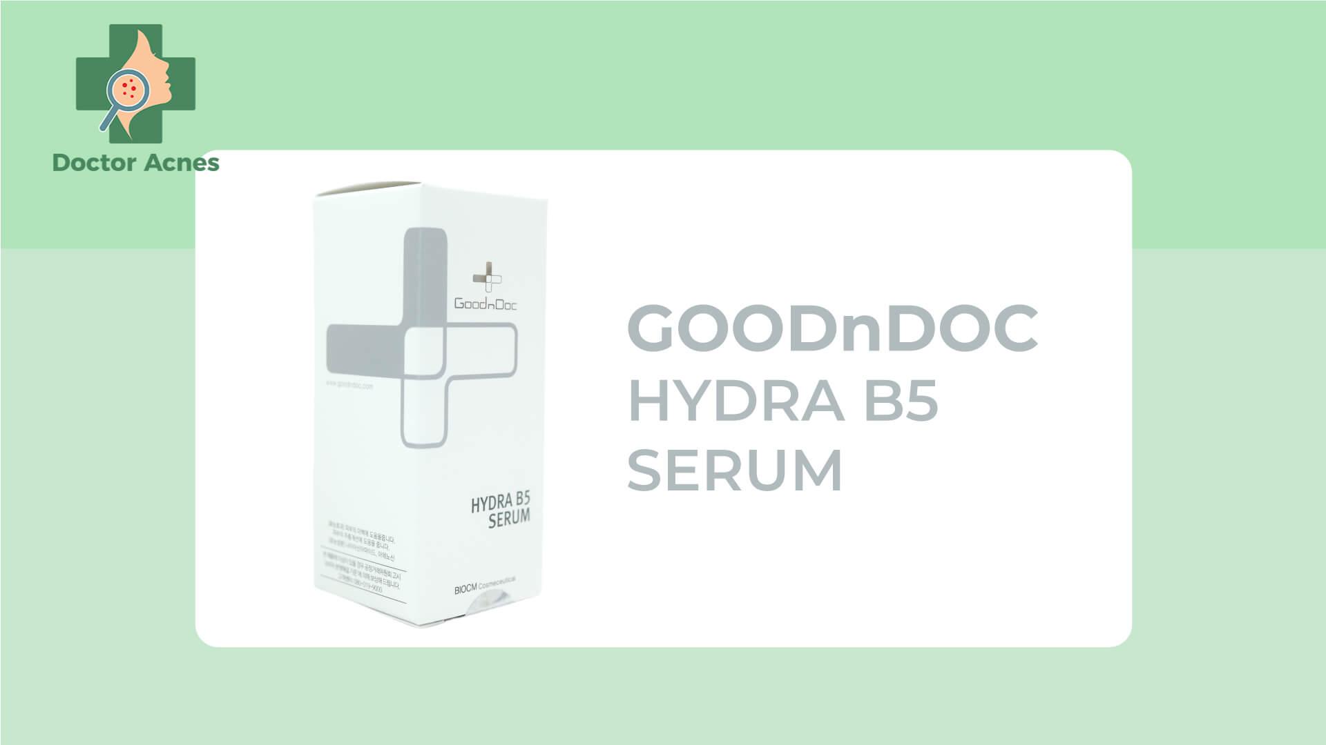 Serum B5 cho da - Doctor Acnes