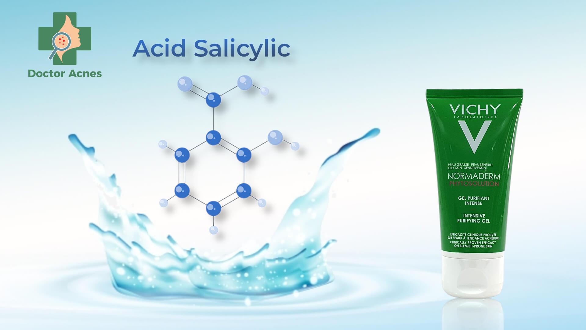 Sữa rửa mặt Vichy - Doctor Acnes