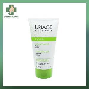 Uriage Hyseac Gel Nettoyant Cleansing Gel - Gel Rửa Mặt Cho Da Nhờn Mụn, Hỗn Hợp 150ml